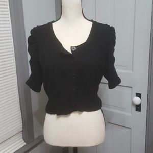 Maurices Button Down Shrug Sweater